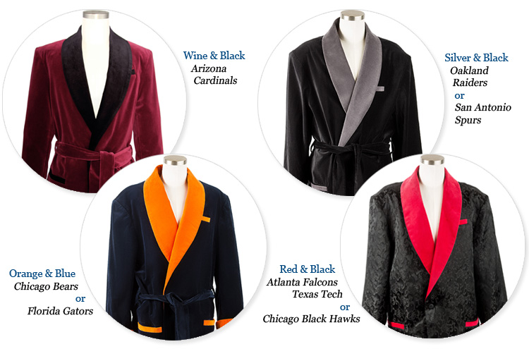 smoking jackets